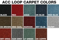 Carpet for your Tri-Five 1957 Chevy Hardtop 4-Door from ...