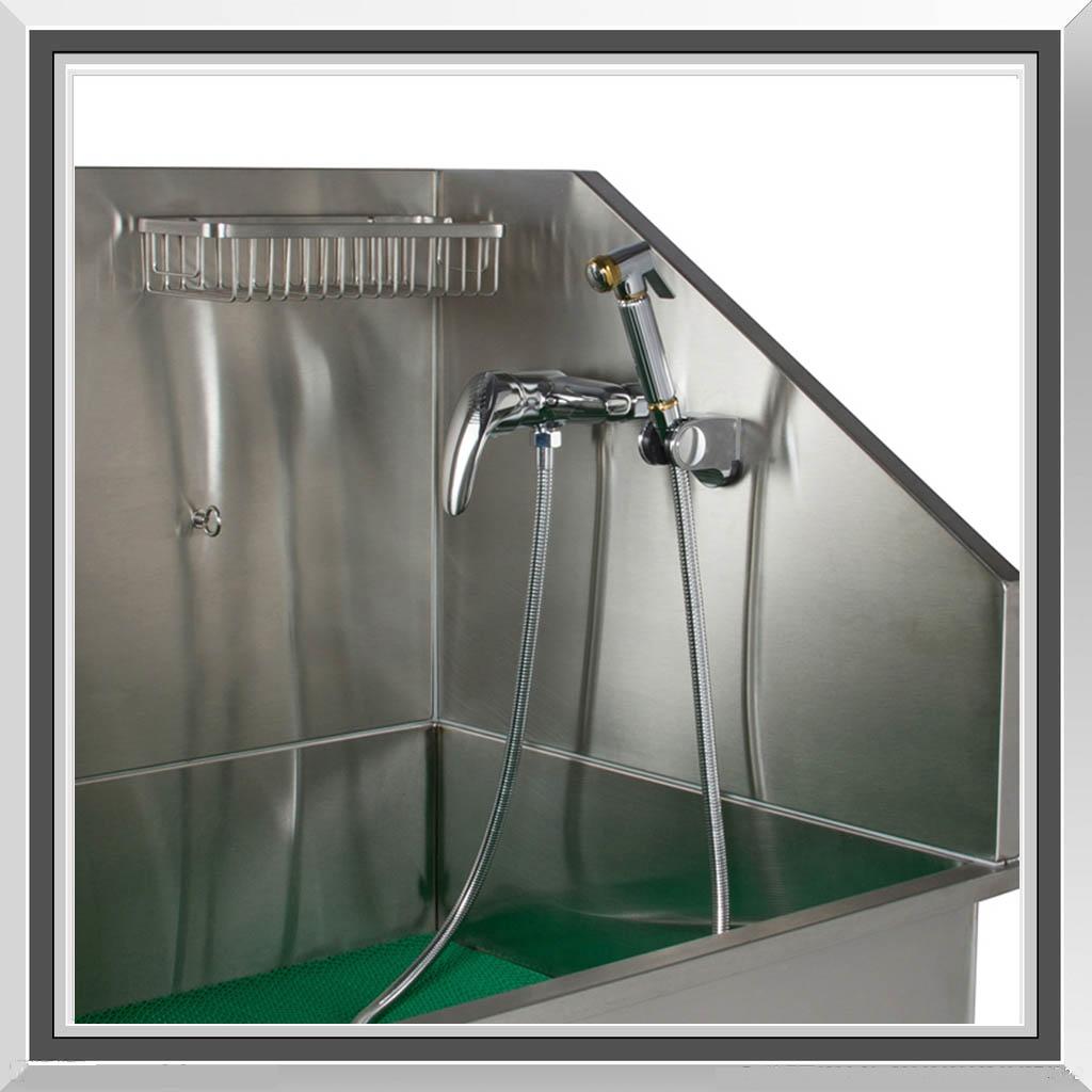 flying pig grooming 38 stainless steel pet dog bathing tub