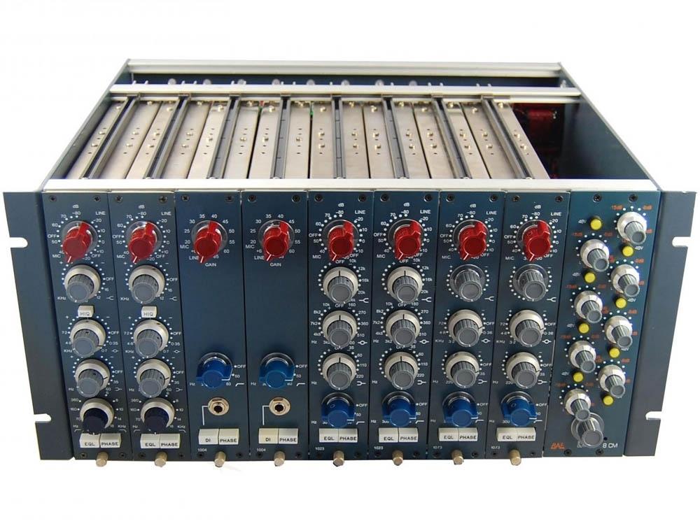 bae 8cm 8 channel mixer