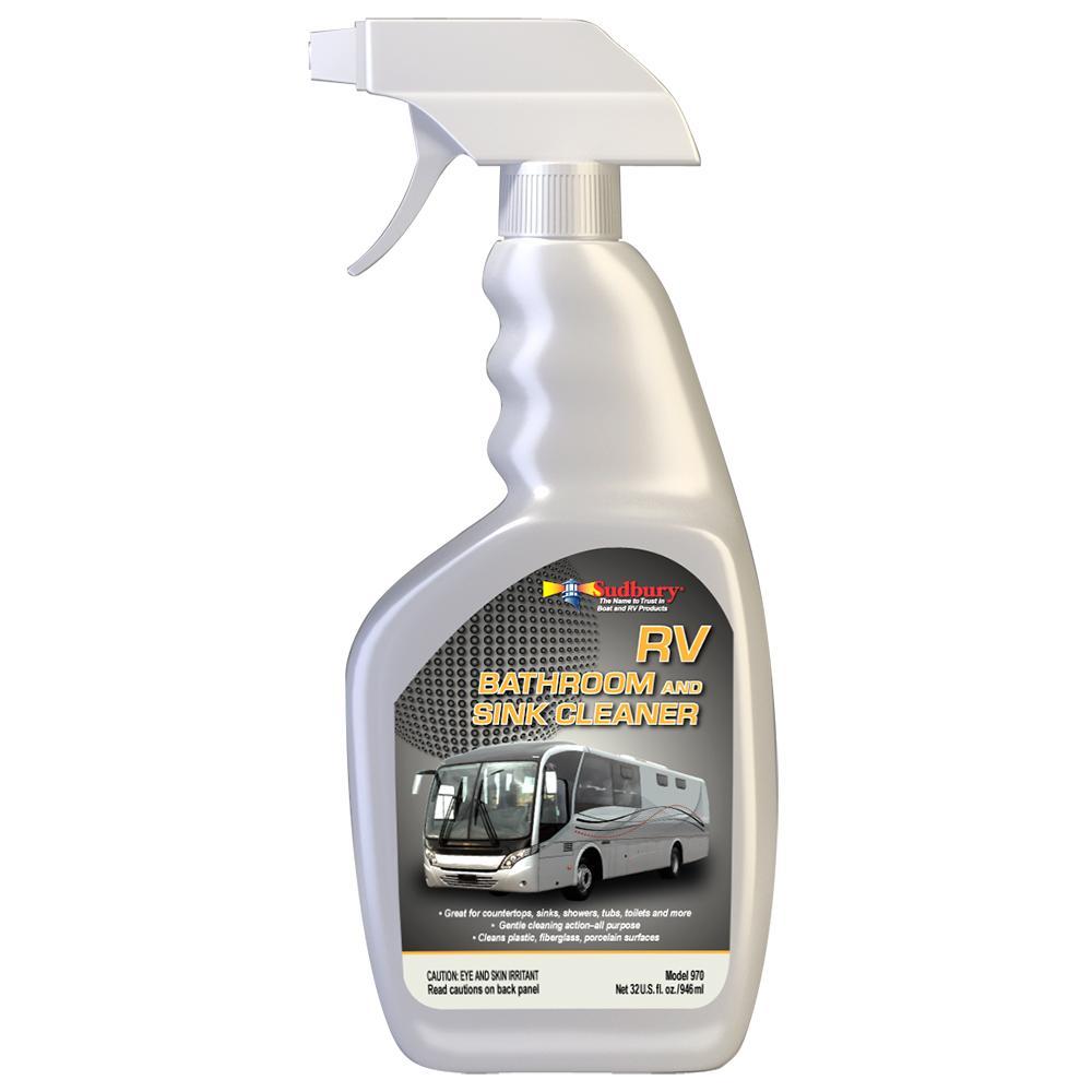 sudbury rv bathroom sink cleaner spray 32oz