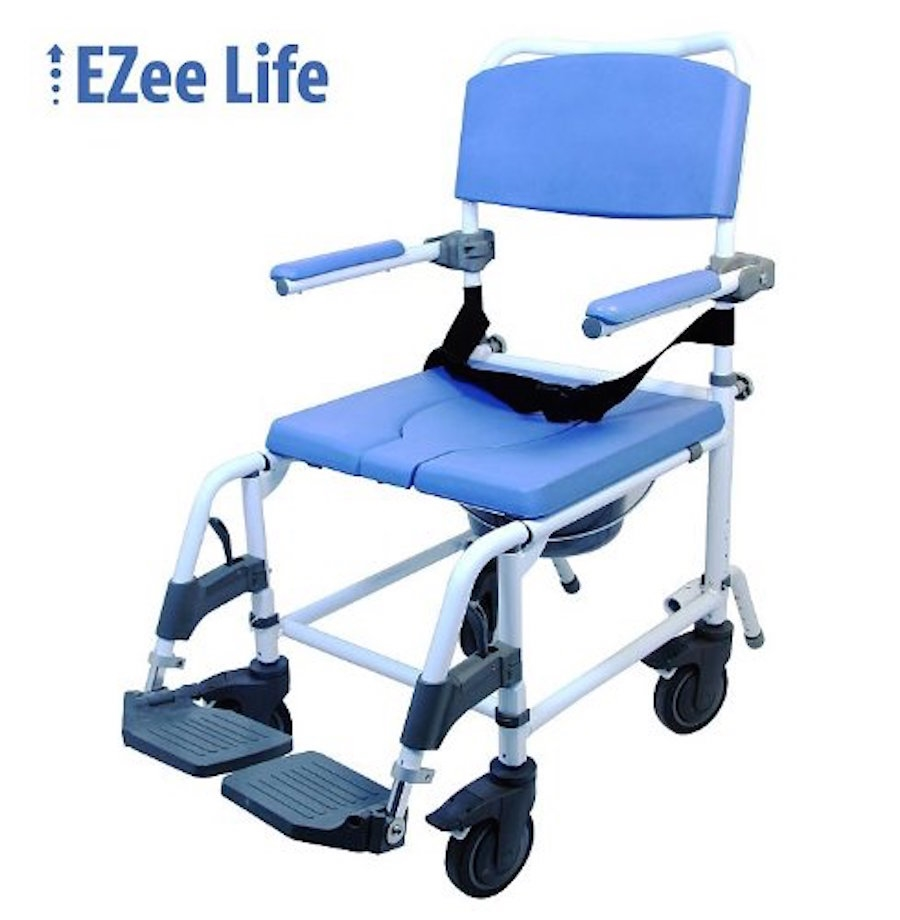 heavy duty commode chair cover factory ezee life wide shower