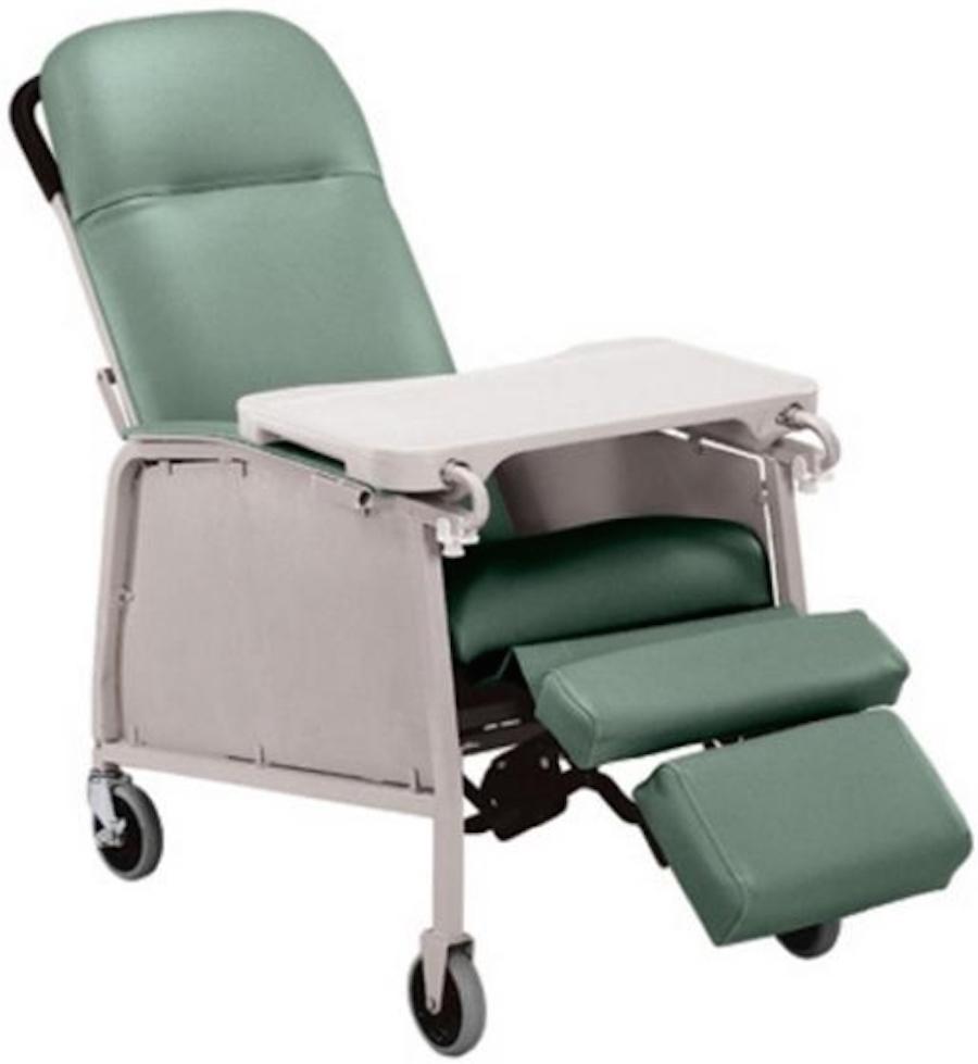 Lumex 3Position Geriatric Recliner 574G  Lumex Geri Chair