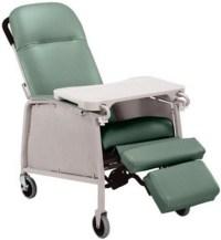Lumex 3-Position Geriatric Recliner 574G - Lumex Geri Chair