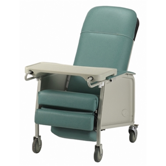 Invacare 3Position Recliner Geri Chair  Invacare Geri Chair