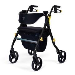 Evac Chair Canada Noir Furniture Chairs Medline Empower Deluxe 4 Wheel Rollator