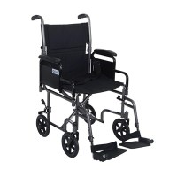 Drive Lightweight Steel Transport Chair with Removable ...