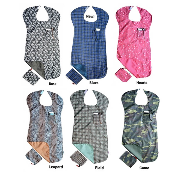 bibs for adults reversible