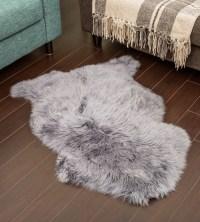 NZ Sheepskin Rug | Grey Single Sheepskin