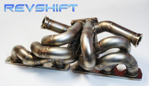 small resolution of twin turbo exhaust manifold