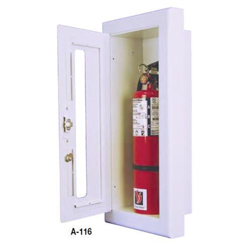 Semi Recessed Fire Extinguisher Cabinet