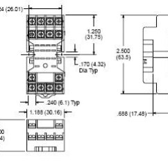 14 Pin Relay Socket Wiring Diagram 2008 Honda Civic Audio Nte R95 106a Mini 8 60