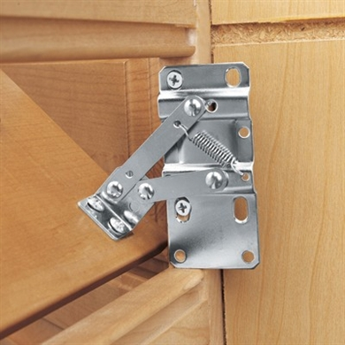 RevAShelf SinkFront TipOut Tray Hinges  PAIR Steel
