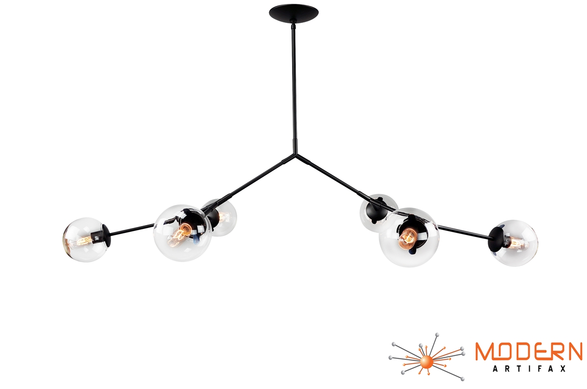 Branching Bubble Chandelier Oil Rubbed Bronze Finish