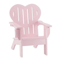 American Doll Chair Xbox One Gaming Chairs 18 Inch Furniture Pink Adirondack Fits Girl Shop Emily Rose