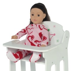 American Girl Doll High Chair Recliner Hire Uk 18 Inch Furniture Fits Dolls