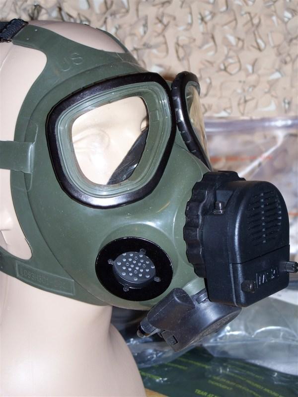 M40 Mcu-2 Millennium Gas Mask Msa Audio Frequency