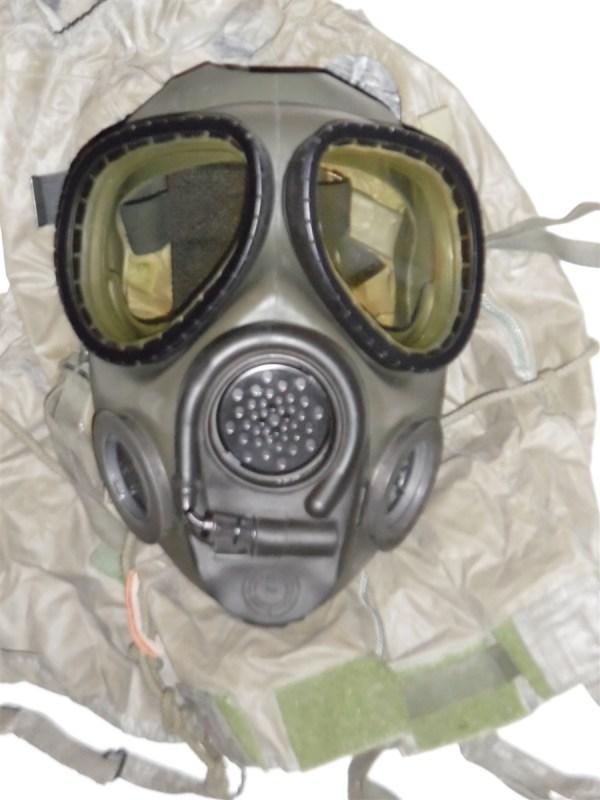Rare Xm40 Prototype Ilc Dover Gas Mask Original