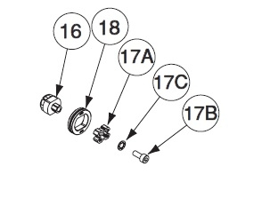 Lincoln Electric Drive Roller Twist Lock S26238