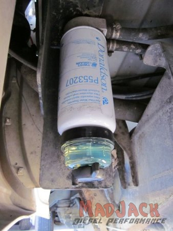 Nicktane Remote Auxiliary Fuel/Water Separator Kit For GM