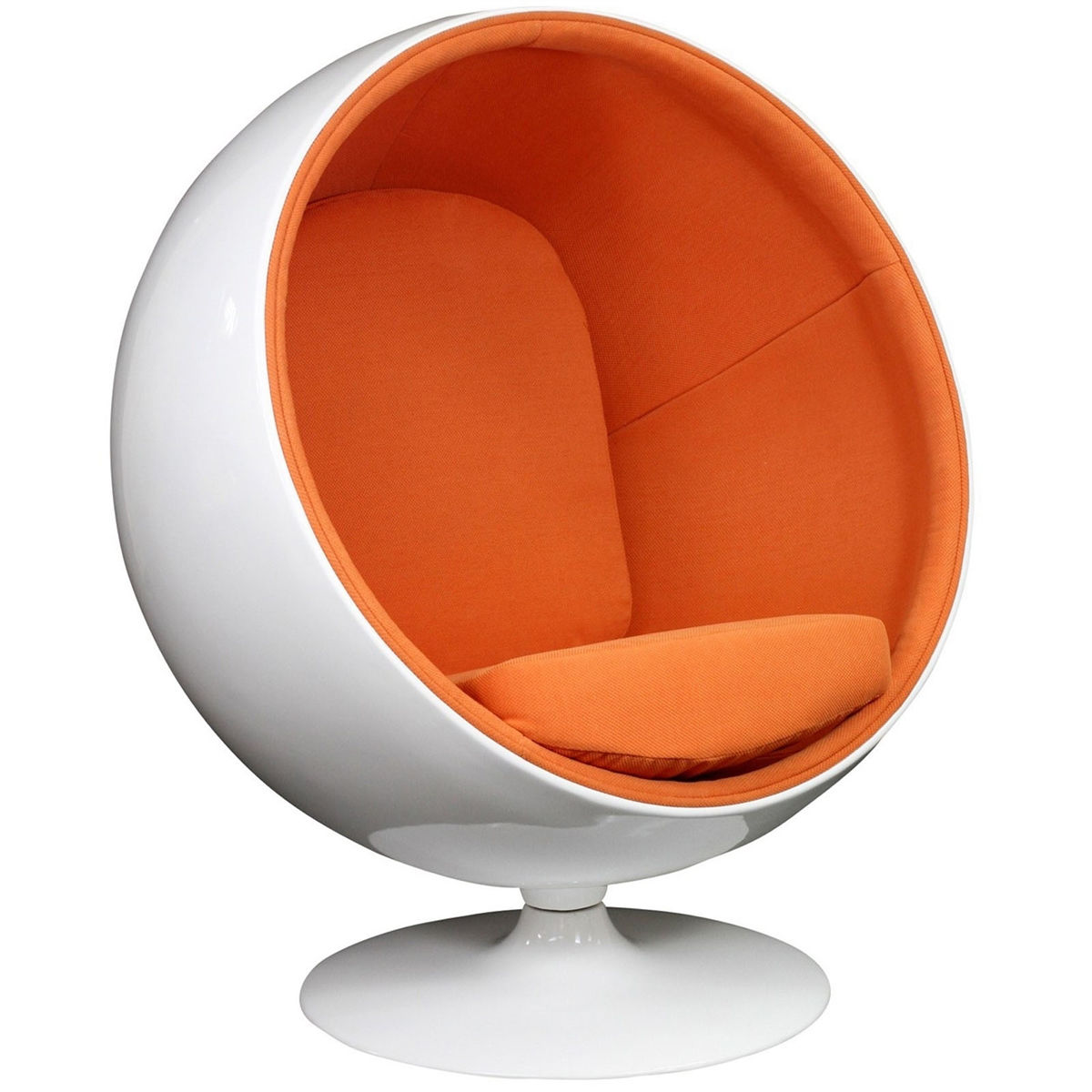 Egg Shell Chairs Eero Aarnio Ball Chair Modern Reproduction Chair