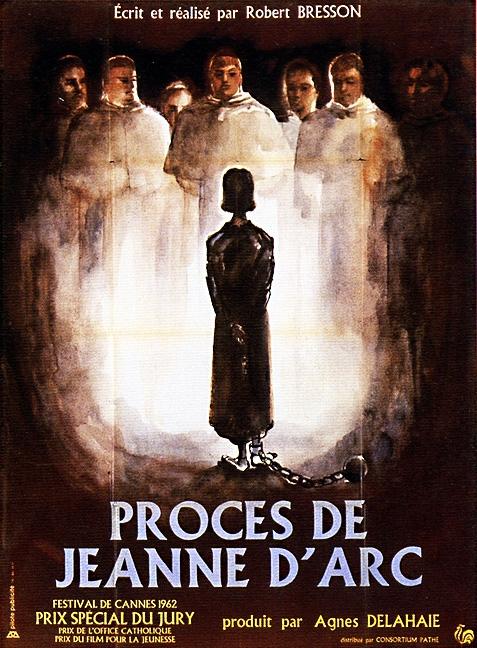 Le Procès De Jeanne D Arc : procès, jeanne, Proces, Jeanne, D'Arc, (1962), Robert, Bresson;, Florence, Delay