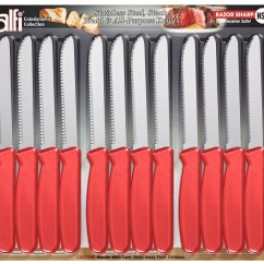 American Made Kitchen Knives Utensils Store Alfi Cutodynamic In Usa Set Of 12 Steak List Price 45 00
