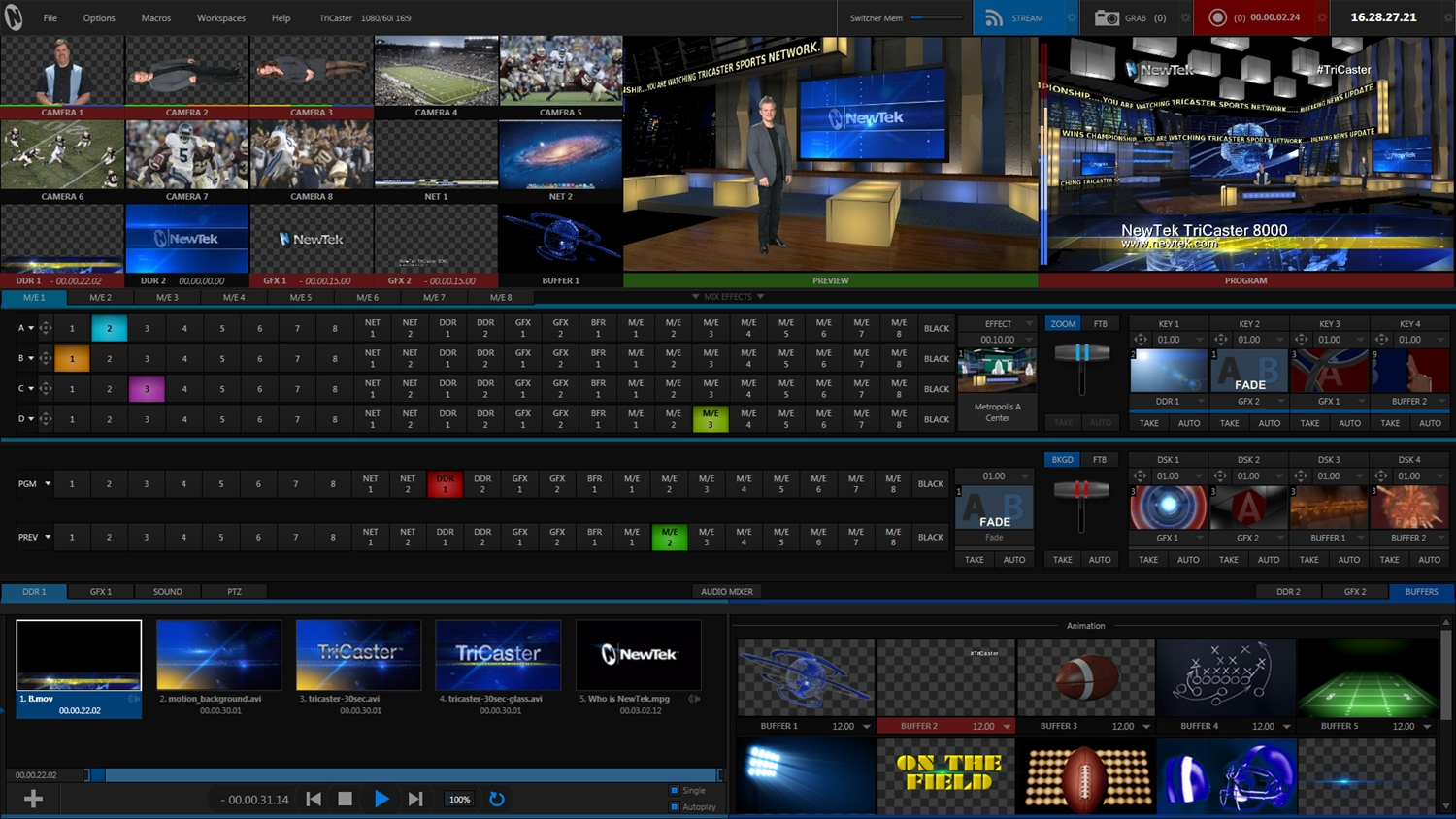 3d Photo Frame Live Wallpaper Newtek Tricaster 8000 Without Control Surface