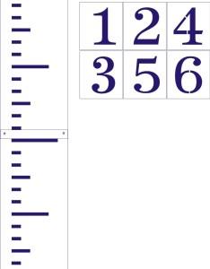 foot ruler stencil set also chart mersnoforum rh