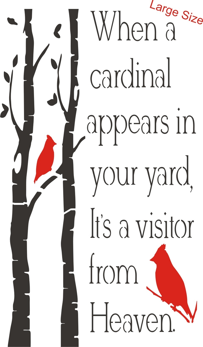 When A Cardinal Appears In Your Yard Its A Visitor From