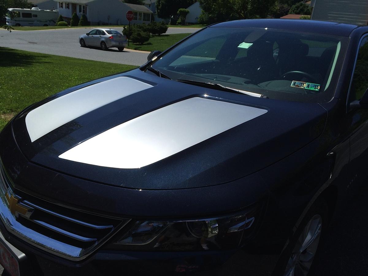 13-17 Impala Ss Hood Rally Stripes Decals