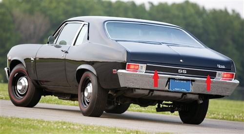 Tail Light Wiring Diagram On 1968 Chevy Nova Rear Lighting Wiring
