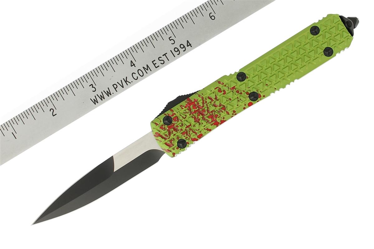 Microtech Ultratech Zombietech Otf Tri-grip Black Bayonet