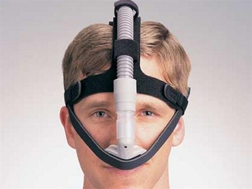 adam nasal pillows mask with headgear