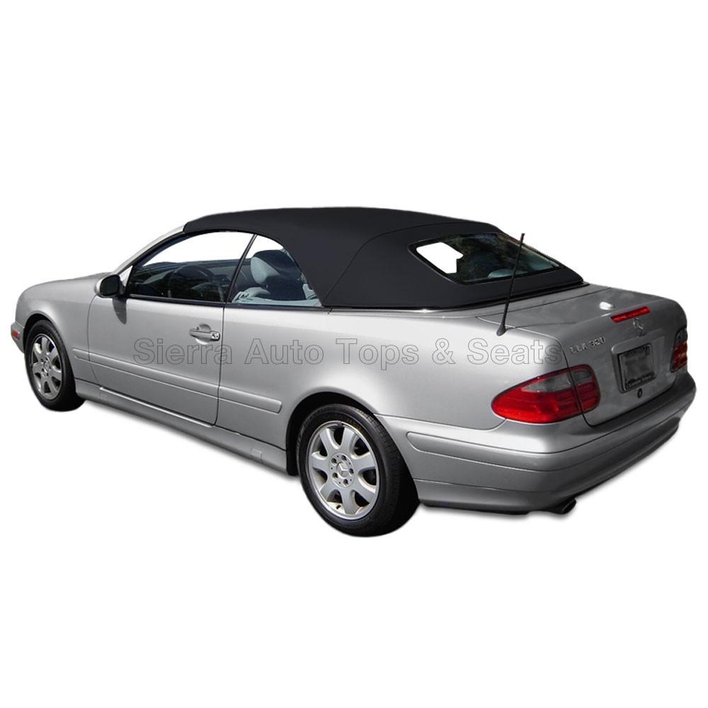 hight resolution of 1999 2003 mercedes clk german a5 convertible top black