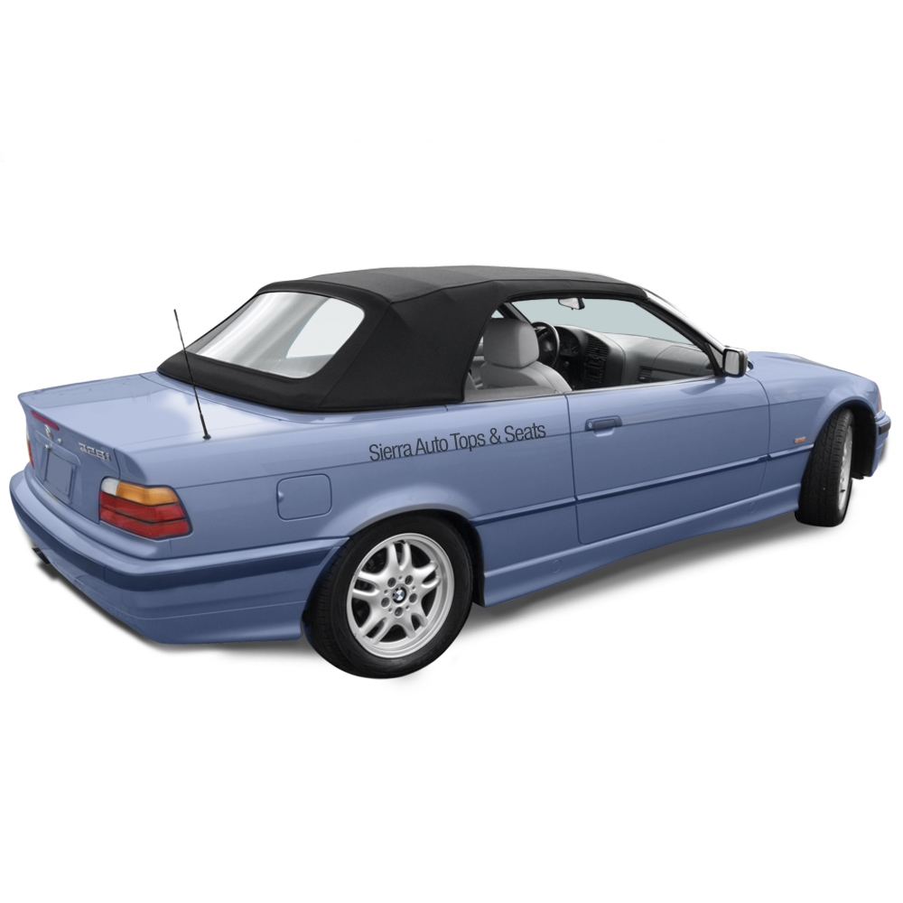 bmw 3 series convertible top 1994 1999 stayfast cloth with plastic window [ 1000 x 1000 Pixel ]