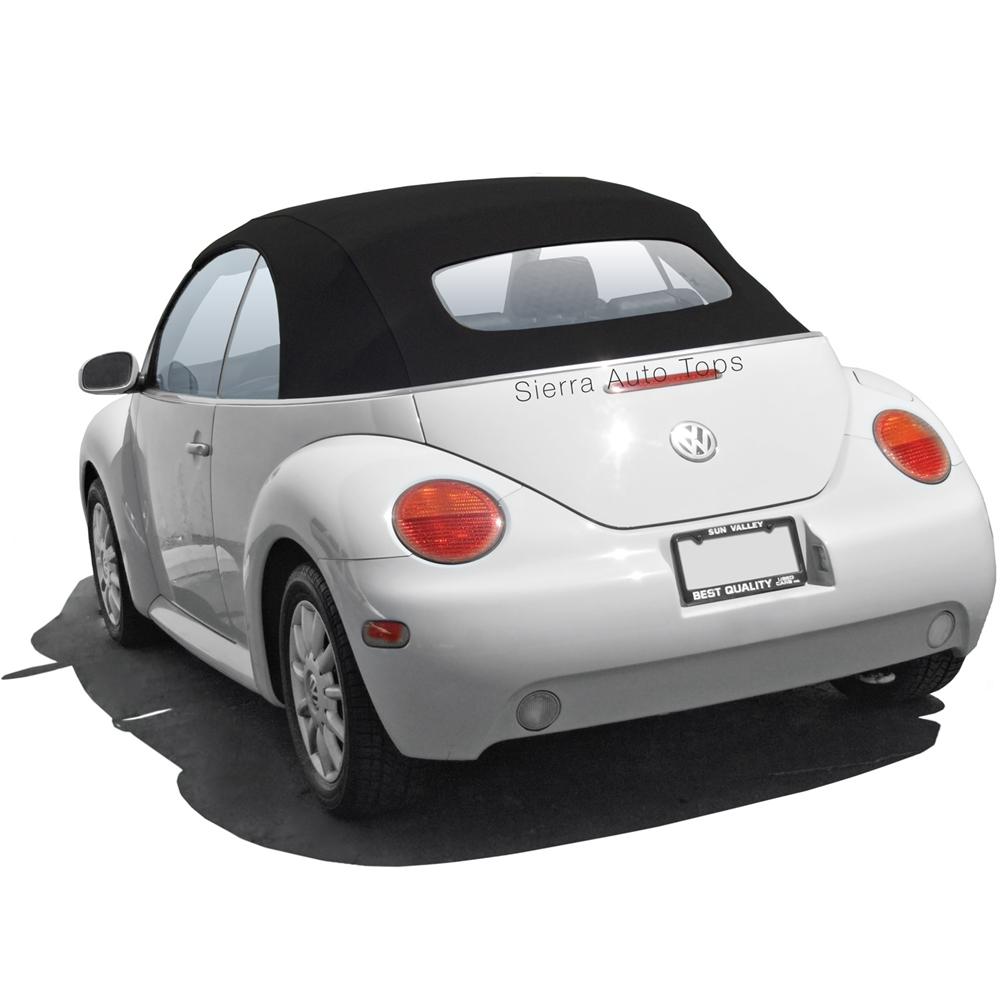 medium resolution of 2003 2010 volkswagen beetle convertible black soft top 2010 vw new beetle door wiring harness