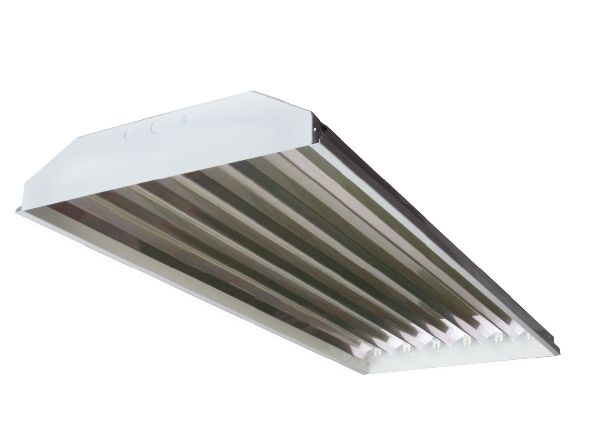 small resolution of 4 foot 6 lamp t5 shop light 54 watts per lamp 6 f54t5 850 ho tubes included t5 lighting