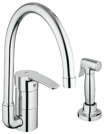 grohe 33 980 001 eurostyle main sink faucet with side spray