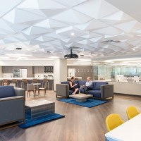 Pyramid 4 | Contemporary Ceiling Tile