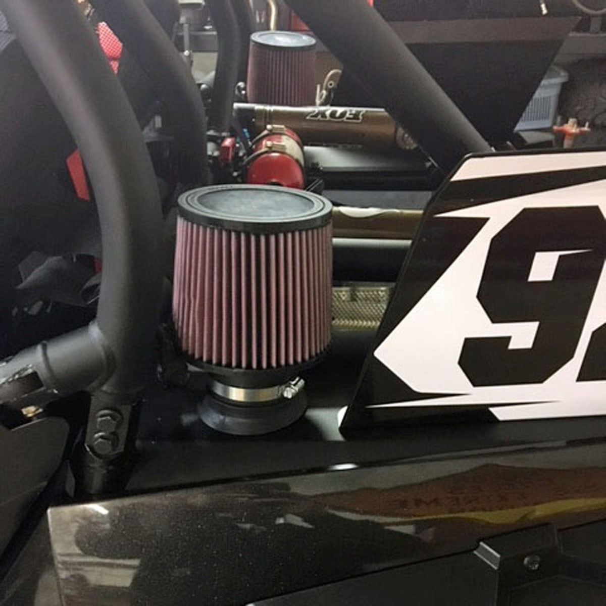 medium resolution of polaris rzr xp 1000 turbo velocity intake system air filter stack our