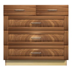 5 Drawer Kitchen Base Cabinet Cabinents With Split Top