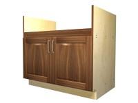 2 door apron sink base cabinet
