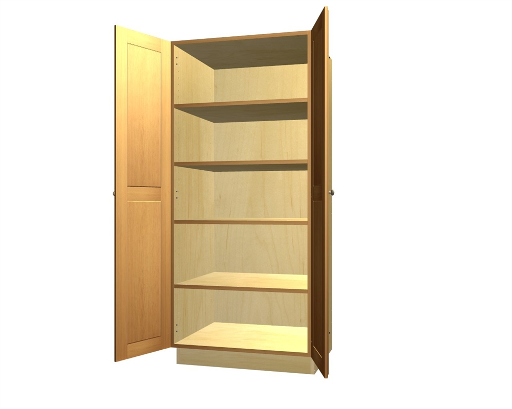 Pantry Cabinet: Pantry Cabinets With Doors with Pantry