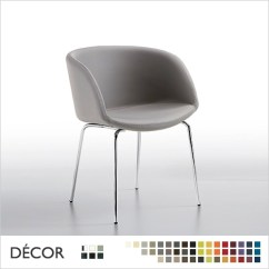 Metal Tub Chairs Visitor For Office Sonny Chair With Armrests Straight Legs Framed See