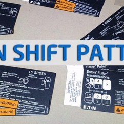 Eaton Fuller Transmission Diagram Dayton Gas Heater Wiring 8 Speed Www Toyskids Co Shift Pattern Diagrams Super 10