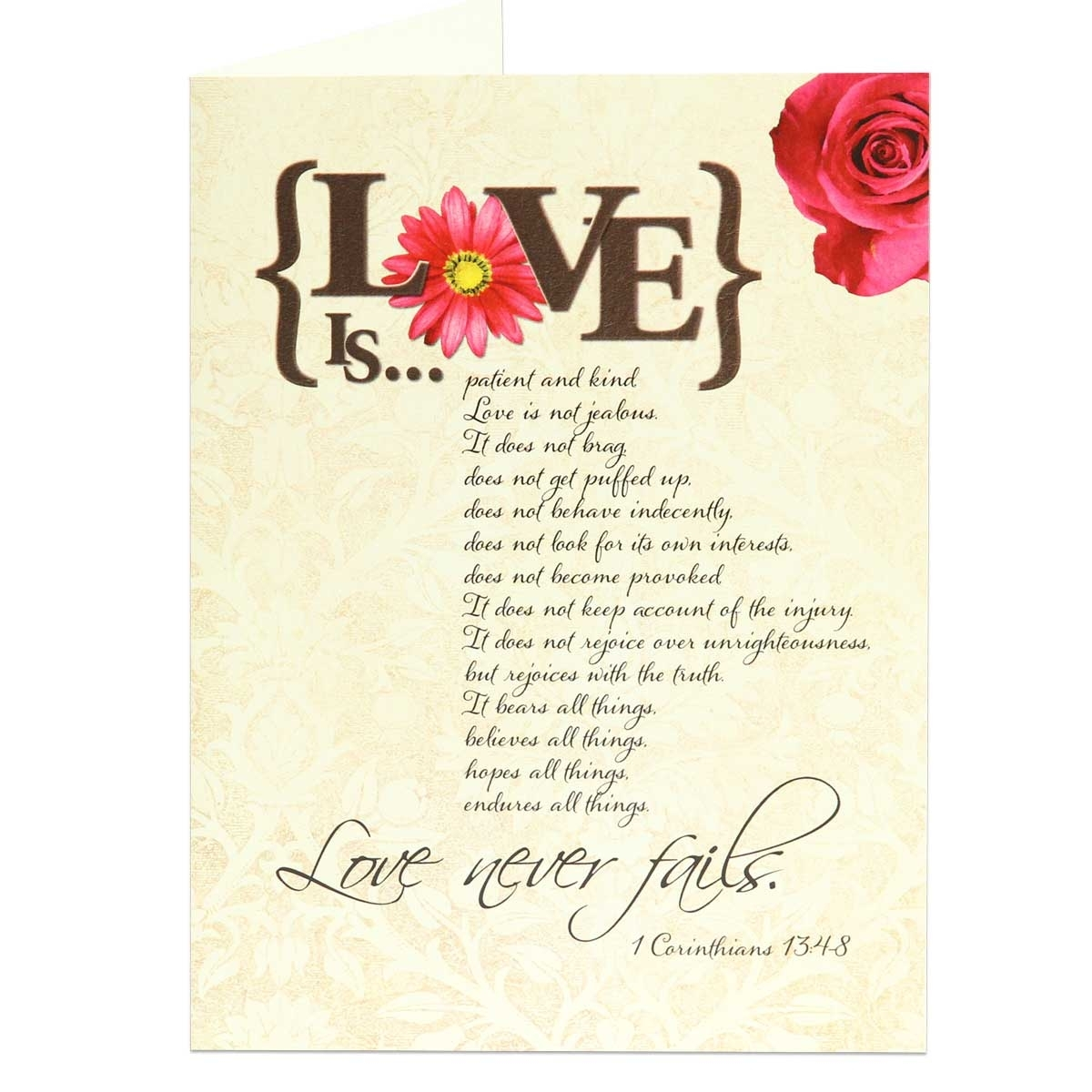 Anniversary Greeting Card Scriptural Anniversary