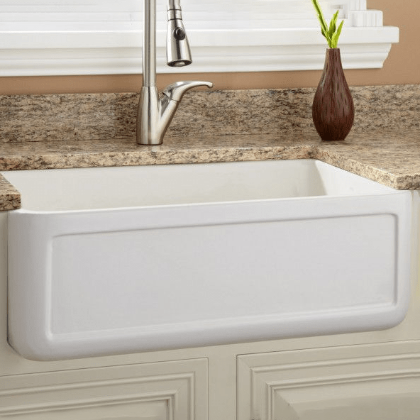 bavaria white deep bowl undermount farmhouse apron front kitchen sink