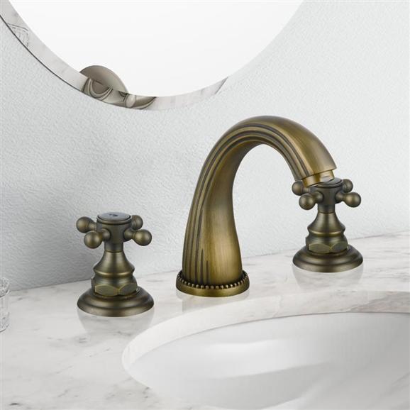 bordeaux 3 piece lavatory sink faucet