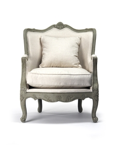 french provincial adele occasional chair sure fit cover luxury designer velvet maison country