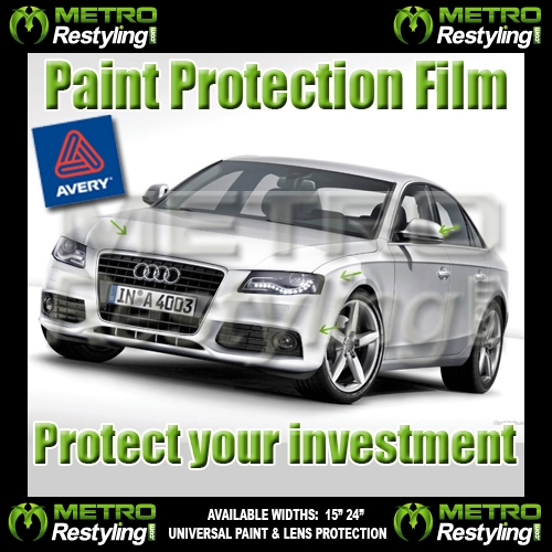 Avery Clear Paint Protection Vinyl Wrap Film 24in